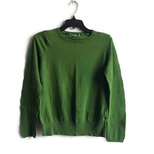Old Navy Crew Neck Green Sweater Large